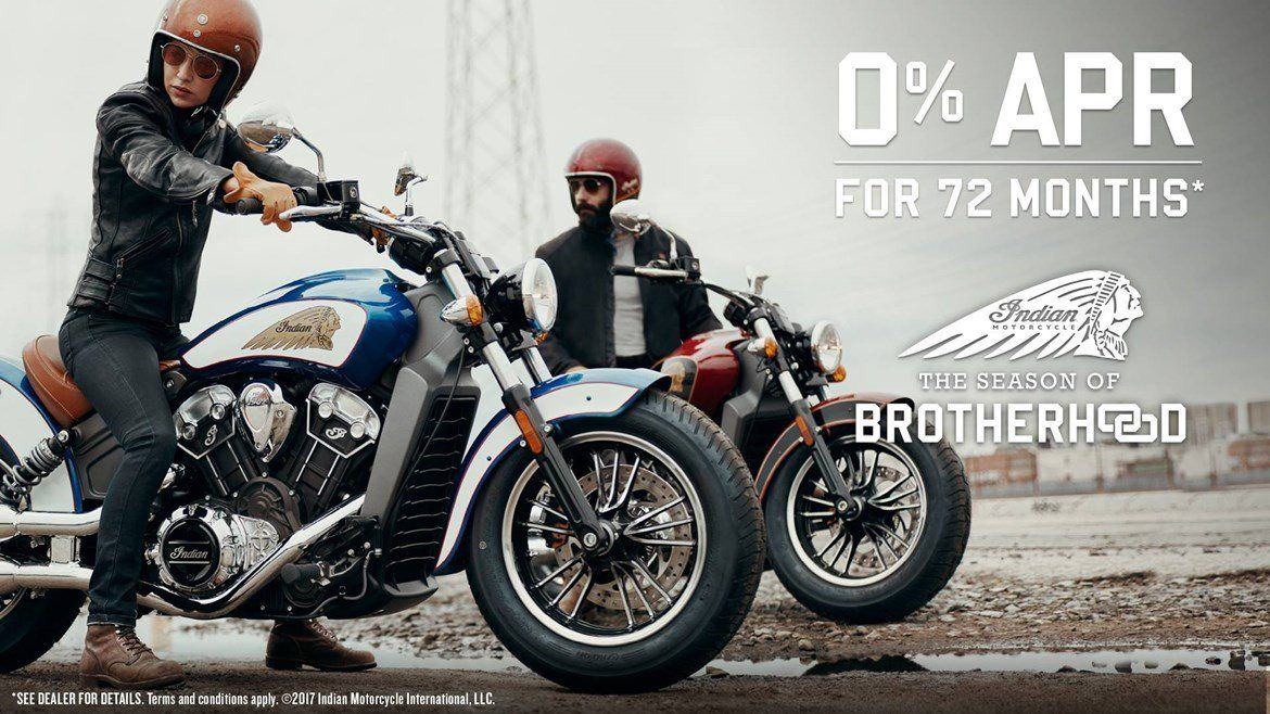 Indian Scout & Scout 60 Offers